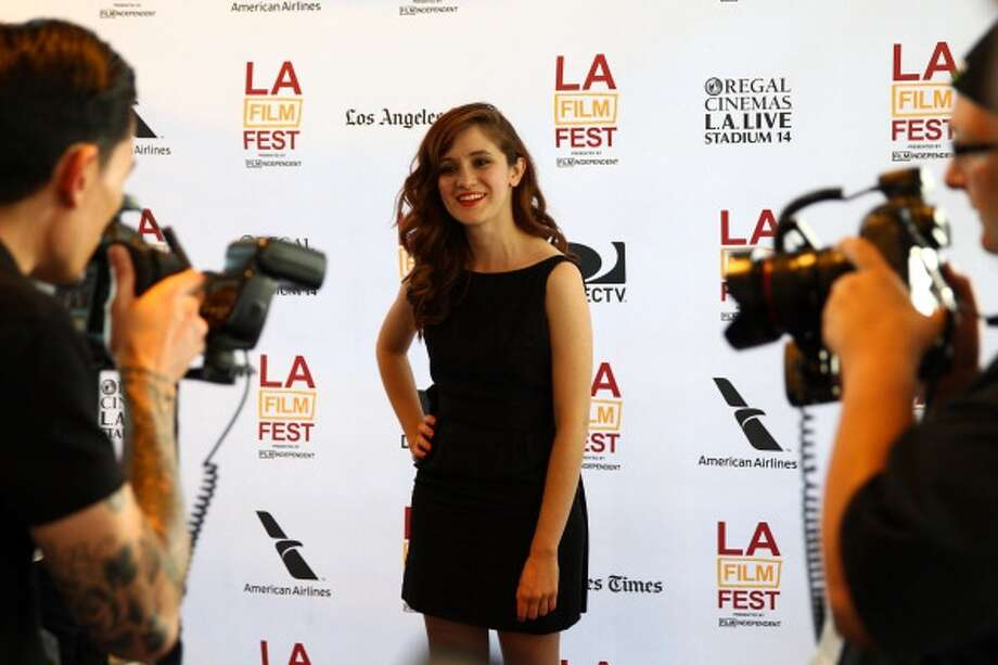 """LOS ANGELES, CA - JUNE 15:  Actress Noel Wells arrives at the """"Forev"""" premiere during the 2013 Los Angeles Film Festival at Regal Cinemas L.A. Live on June 15, 2013 in Los Angeles, California.  (Photo by Joe Scarnici/WireImage) Photo: WireImage / 2013 Joe Scarnici"""
