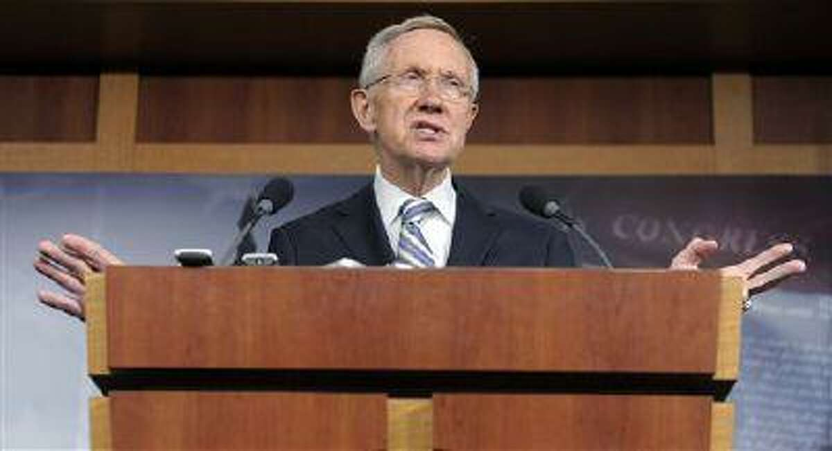 Senate Majority Leader Harry Reid (D-Nev.).