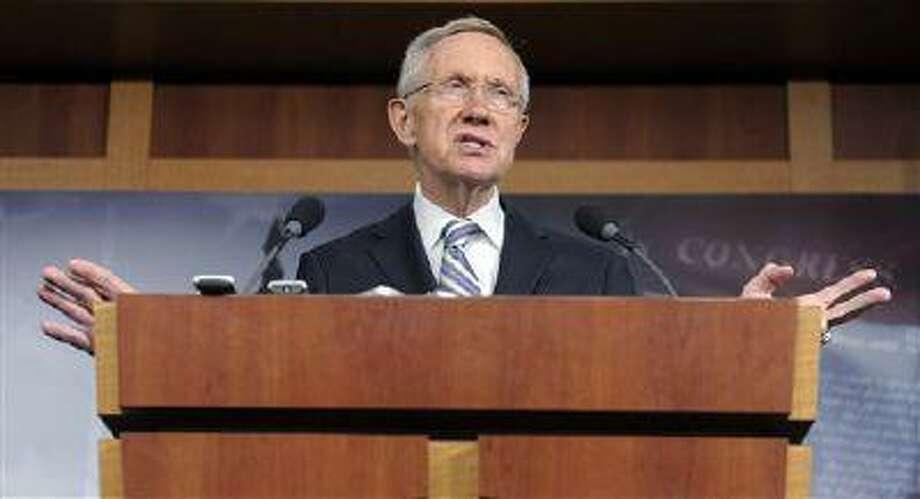 Senate Majority Leader Harry Reid (D-Nev.). Photo: AP / AP