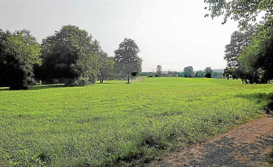 The 19.6 acre parcel at Powder Ridge in Middlefield. Photo: Catherine Avalone — The Middletown Press   / TheMiddletownPress