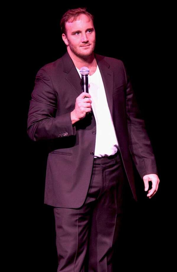 """Actor and stand up comedian Jay Mohr is shown performing on stage during a """"live"""" concert appearance. Photo: John Atashian / John Atashian"""