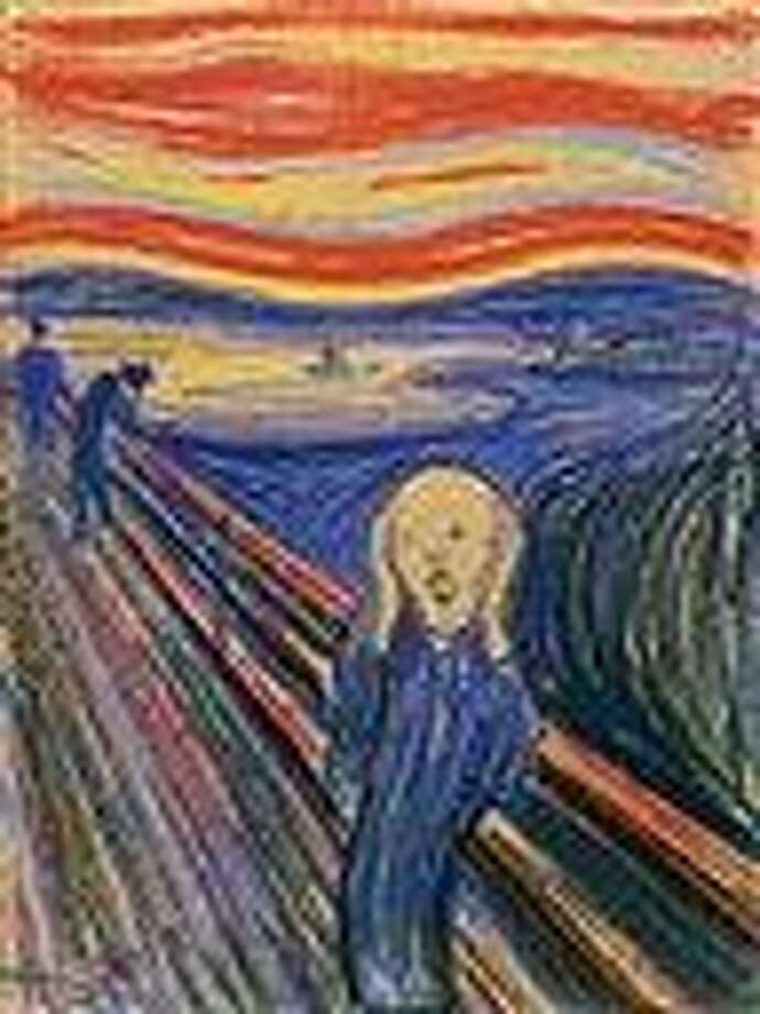 """In this undated photo provided by Sotheby's Auction House in New York City, """"The Scream"""" by Edvard Munch is shown. The 1895 pastel on board, arguably one of the art world's most recognizable images, sold Wednesday for a record $119,922,500. Associated Press Photo: AP / Sotheby's Auction House"""