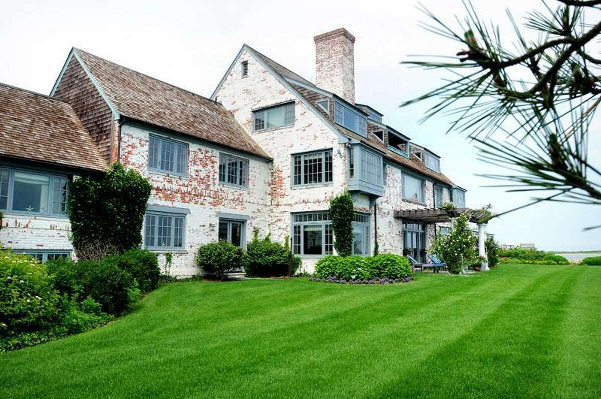 The former home of Katharine Hepburn at the mouth of the Connecticut River in the Borough of Fenwick in Old Saybrook. Arnold Gold/New Haven Register
