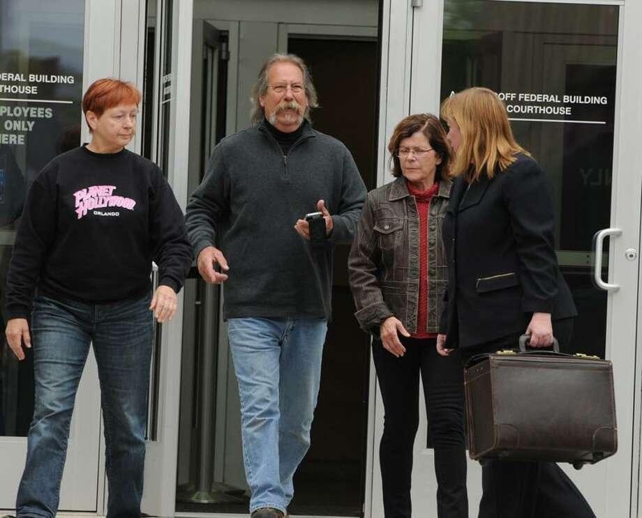 Jill Platt, left, and Bettejane Hopkins, second from right. Mara Lavitt/Register