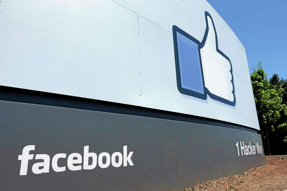 The sign in front of Facebook headquarters in Menlo Park, Calif. Photo: Ben Margot — The Associated Press File Photo  / AP
