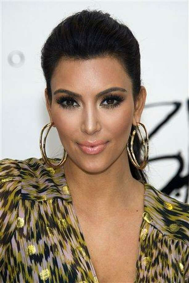 Kim Kardashian. Associated Press Photo: ASSOCIATED PRESS / AP2011