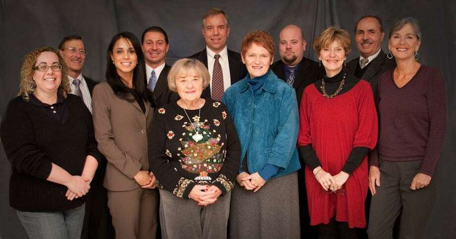 Submitted photo Back row, left to right: Jay Keiser; Mark Benigni, vice-chairman; George Eames, chairman; Garrett Birdsey, treasurer; and Richard Muniz. (front row, l-r):Marci Swede; Sheila Iglesias; Ellen Long; Jule A. Crawford; Judeth ZFelton; and Anne Cassady, secretary.