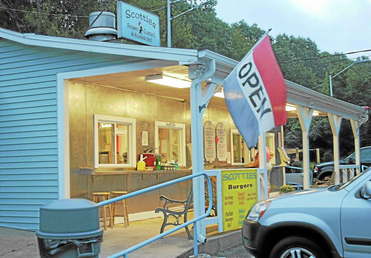Scotties Frozen Custard at 327 New London Road (Route 85) in Colchester is open from 11:30 a.m. to 8 p.m. through Sept. 29.