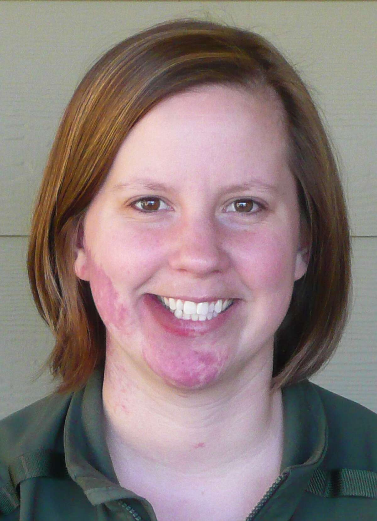 This undated photo provided by Mount Rainier National Park shows park Ranger Margaret Anderson. Anderson, 34, was fatally shot Sunday at Mount Rainier National Park in Washington state, according to the National Park Service. Officials closed the park after the shooting Sunday, and asked people to stay out of the area while they search for a man carrying a long rifle. (AP Photo/Mount Rainier National Park)