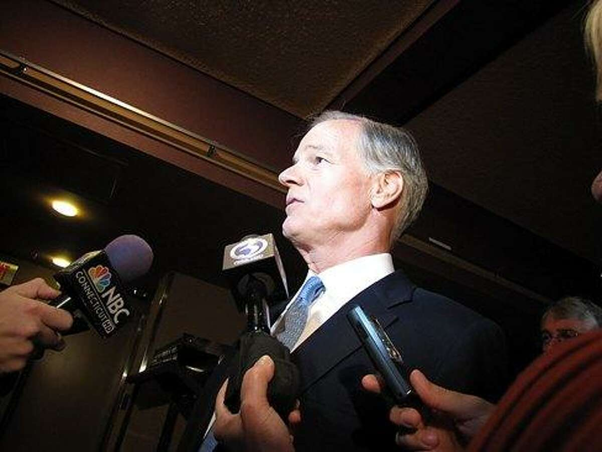 Tom Foley on the campaign trail in 2010. Photo courtesy of CTNEWSJUNKIE