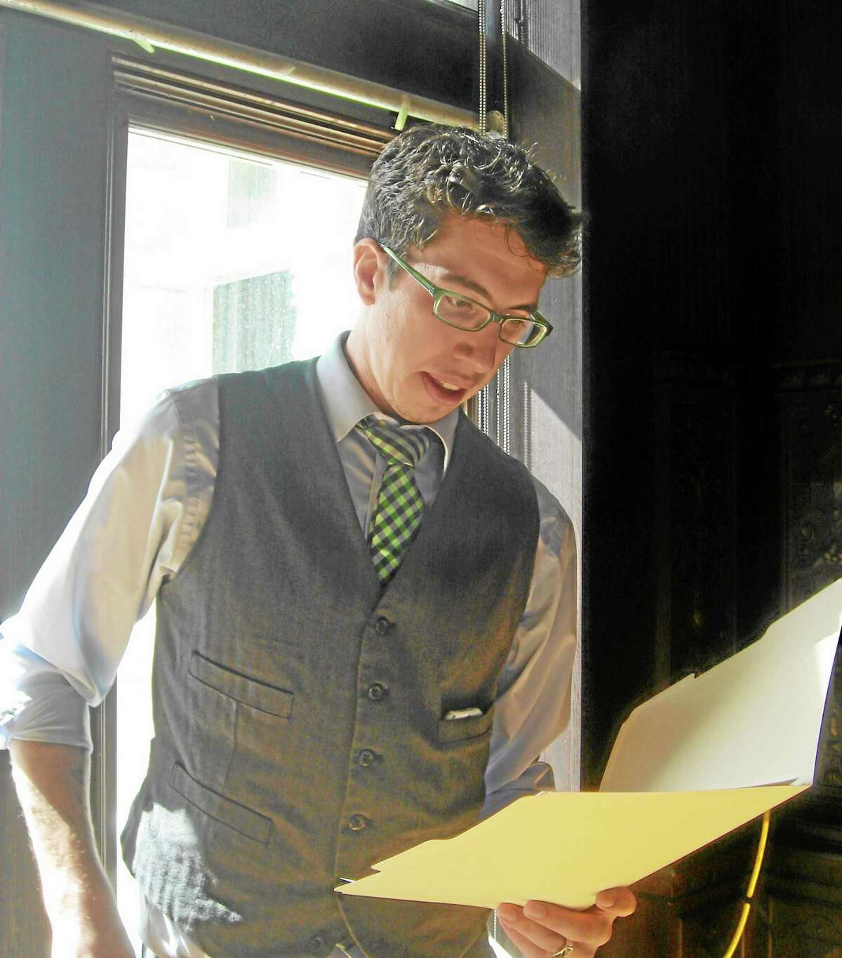 """Former Durham resident Colin Halloran, who now lives in Boston, recently launched his own independent publishing company, Martlet & Mare Books, to help give outstanding authors a venue in which to share their work. Halloran is overseeing the Sept. 17 release of Fairfield resident Alena Dillon's book, """"I Thought We Agreed To Pee In The Ocean: And Other Amusings From A Girl Wearing Sweatpants."""""""