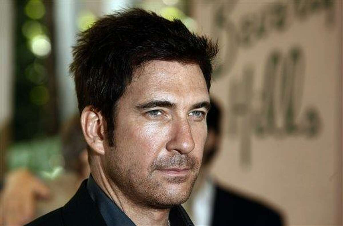 In this 2009 file photo, actor Dylan McDermott arrives at the Hollywood Foreign Press Annual Installation luncheon in Beverly Hills, Calif. Associated Press