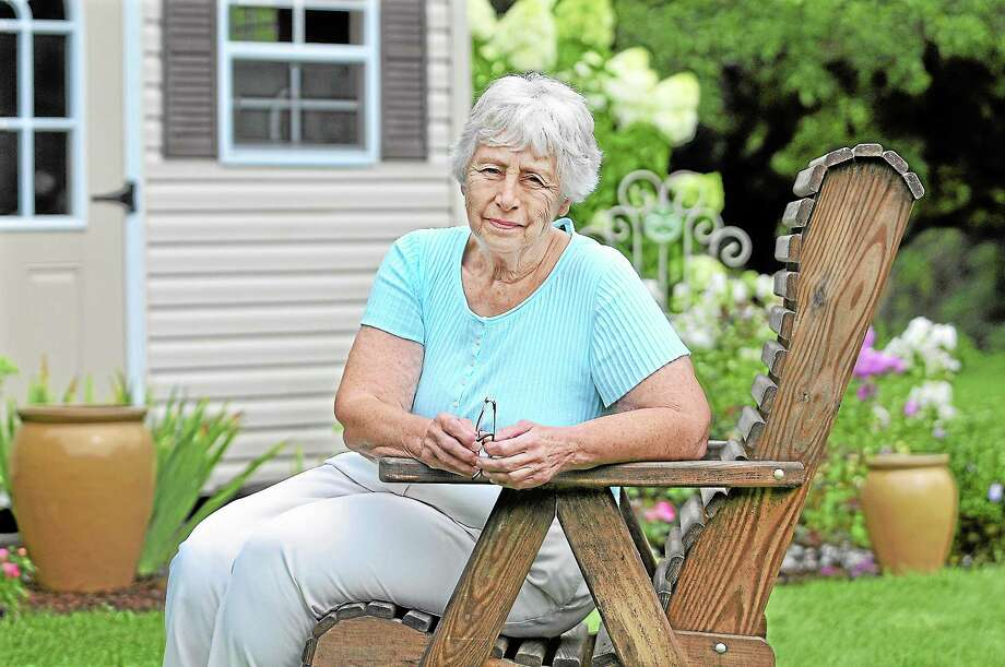 Middlefield resident Marianne Corona will run for first selectman as an unaffiliated candidate.  Catherine Avalone — The Middletown Press Photo: Journal Register Co. / TheMiddletownPress