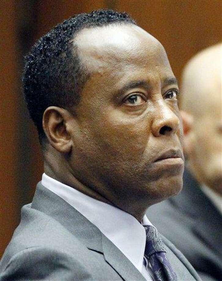 Dr. Conrad Murray Associated Press Photo: AP / AP2011