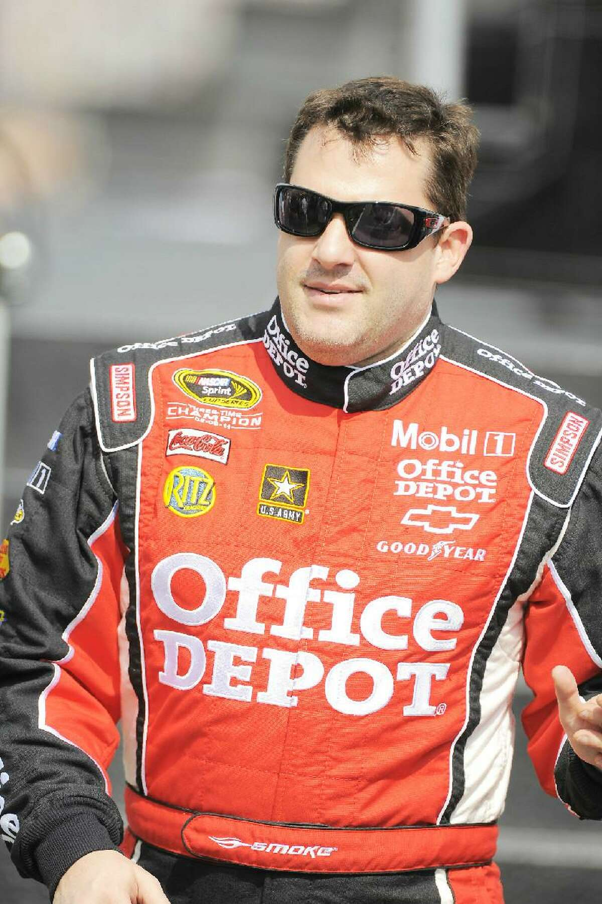 ASSOCIATED PRESS Sprint Cup Series driver Tony Stewart (14) is shown prior to the Gatorade Duels at Daytona International Speedway on Feb 23 in Daytona Beach, Fla. Stewart is looking for his first Daytona 500 victory. He is 0-13 all-time.
