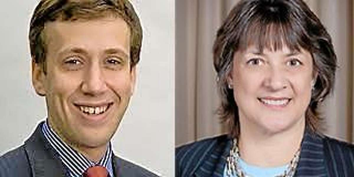 Matt Lesser and Deborah Kleckowski