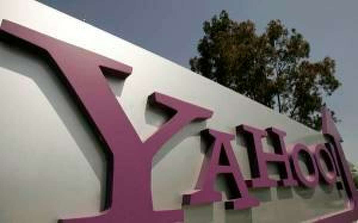 The headquarters of Yahoo Inc. is pictured in Sunnyvale, California in this file photo taken May 5, 2008. Yahoo Inc reported revenue of $1.35 billion in the fourth quarter, up nearly 2 percent year-on-year. The Web portal said on Monday that its fourth-quarter net income was $272.3 million, or 23 cents per share, versus $295.6 million, or 24 cents per share in the year-ago period. REUTERS/Robert Galbraith/Files