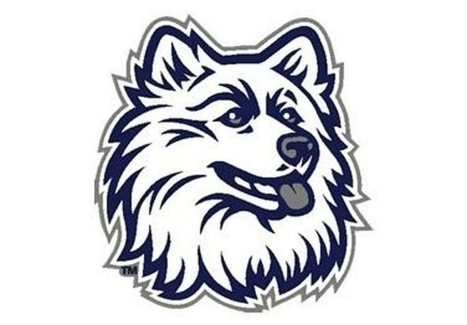The University of Connecticut Husky logo.