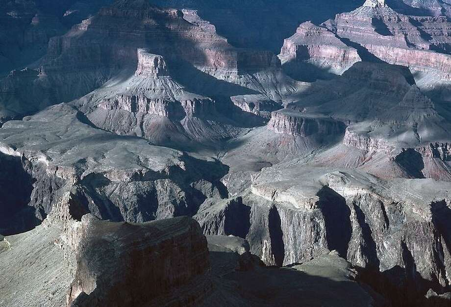 This is an aerial view of Grand Canyon National Park in Arizona, 1980.  (AP Photo) Photo: ASSOCIATED PRESS / AP1980