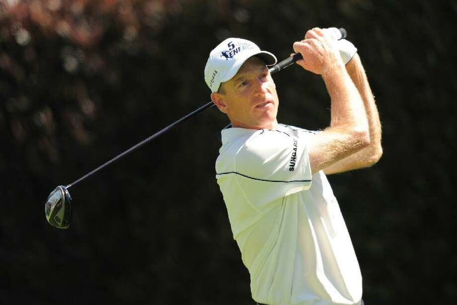 ASSOCIATED PRESS Jim Furyk is shown during the third round of the 112th U.S. Open at The Olympic Club on Saturday in San Francisco.