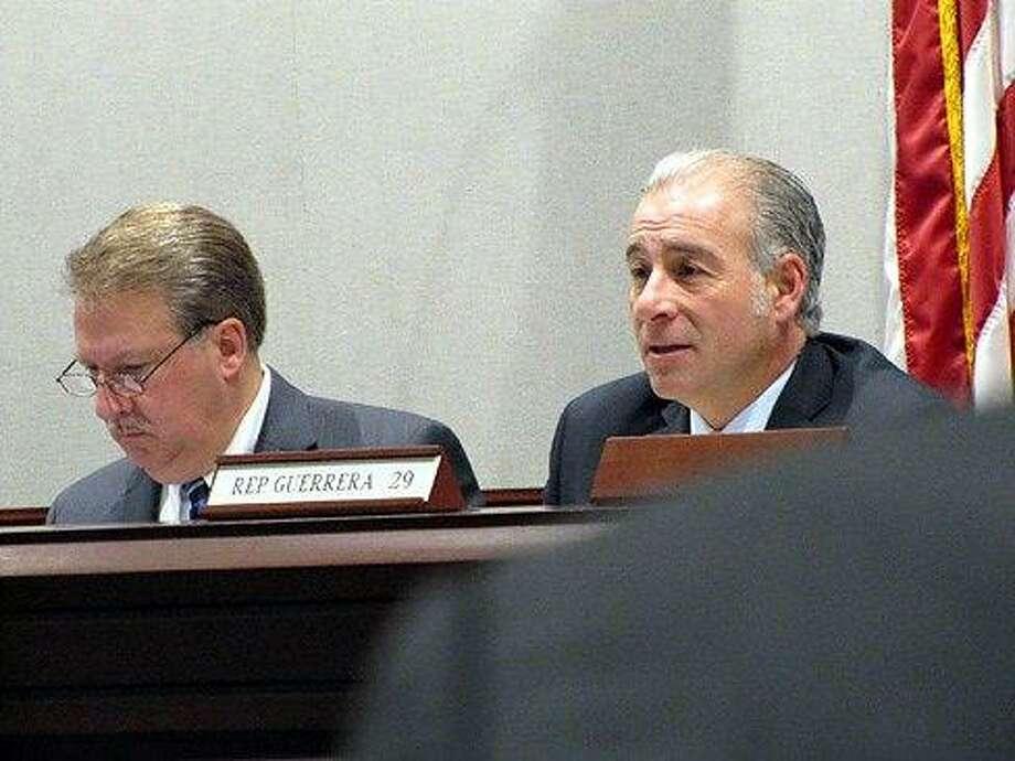 Reps. Antonio Guerrera and David Scribner. Hugh McQuaid photo