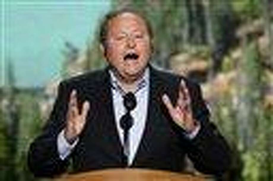 Montana Gov. Brian Schweitzer addresses the Democratic National Convention in Charlotte, N.C. It's not often that a governor from a rural state is considered potential cabinet level or even presidential material_but the 57-year-old Schweitzer is creating that kind of dark horse buzz. AP Photo Photo: AP / AP