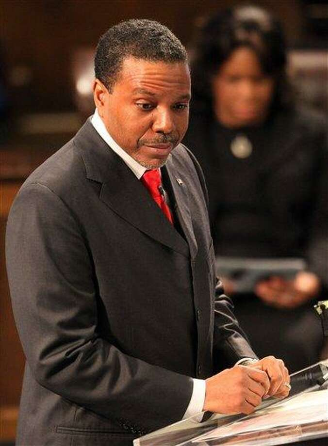 Pastor Creflo Dollar Jr. in a 2007 file photo. Associated Press Photo: AP / © 2011 Atlanta Journal Constitution