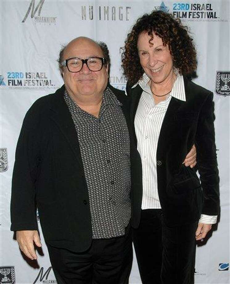 Actors Danny Devito, left, and Rhea Perlman attend the opening night of the 23rd Annual Israel Film Festival at the Ziegfeld Theatre in New York in 2008. A spokesman for DeVito says the couple is separating after 30 years of marriage. Publicist Stan Rosenfield offered no other details. Associated Press Photo: AP / KRAPE