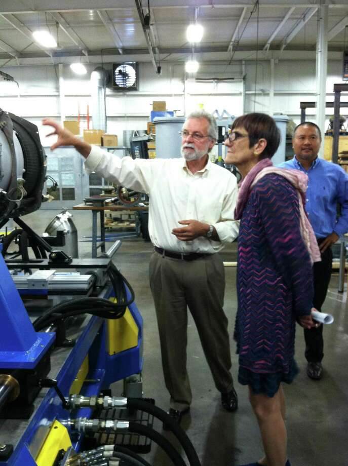 Submitted photo Congresswoman Rosa DeLauro, CT-3, visited Test Logic in Middletown on Monday to highlight the importance of manufacturing to Connecticutís economic growth.