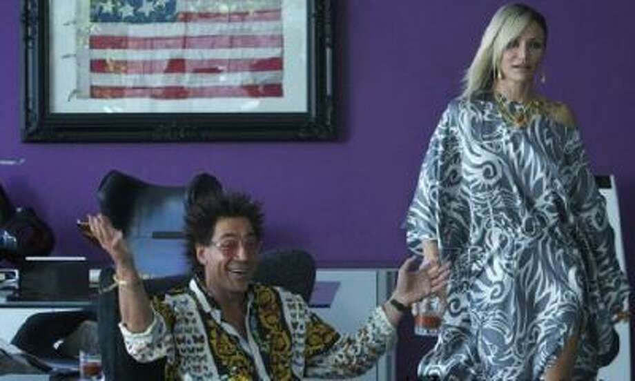 "Camerion Diaz and Javier Bardem in a scene from ""The Counselor."" / PR"