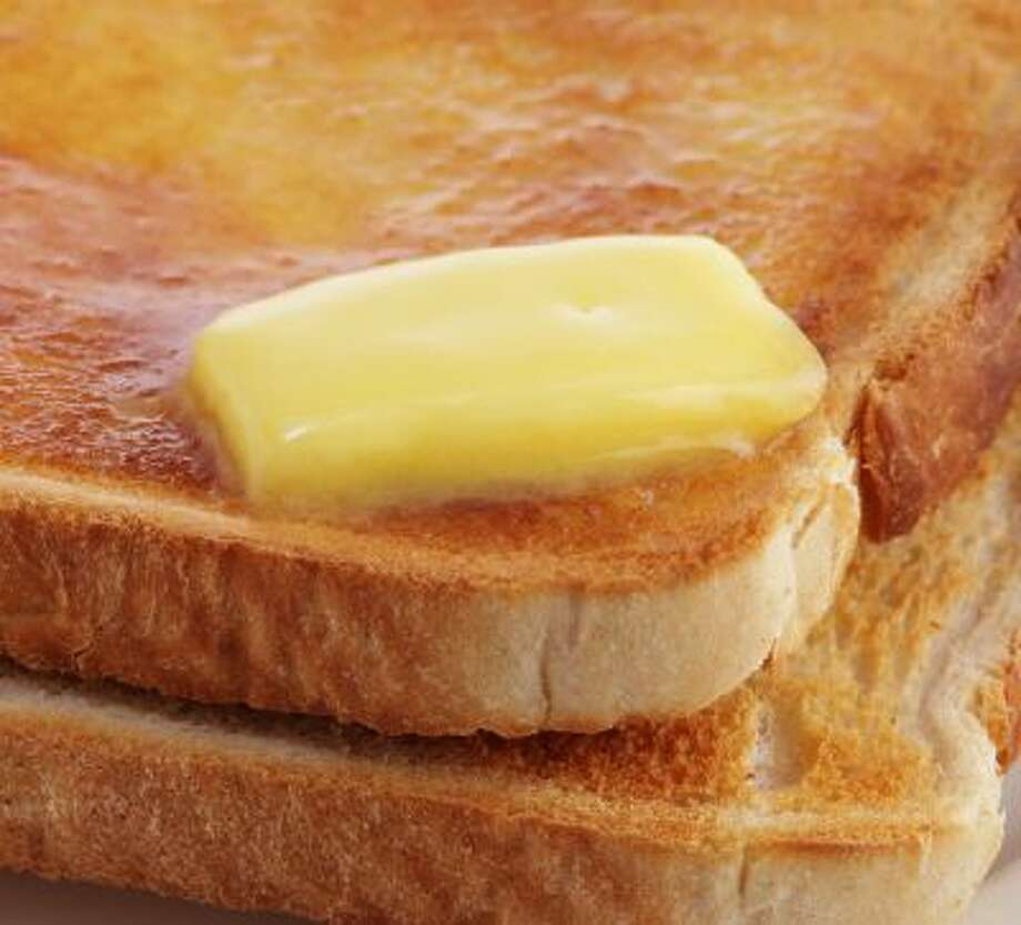 'The anti-sat-fat message has been used effectively by food manufacturers to woo us away from whole, natural foods, such as butter, which is only minimally processed, on to their products, which are entirely the opposite, such as margarine.' Photo: Getty Images / (c) Simon Battensby
