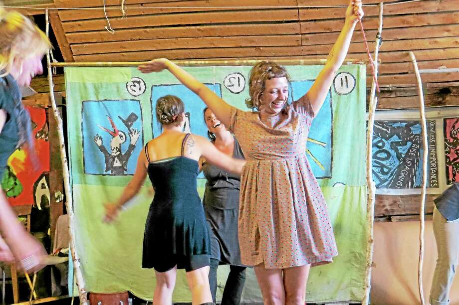 Submitted photo - ARTFARMARTFARM is joinng forces with the Vermont-based puppetry group, Arse Kicking Puppetry, for a daylong workshop in Middletown. Photo: Journal Register Co.