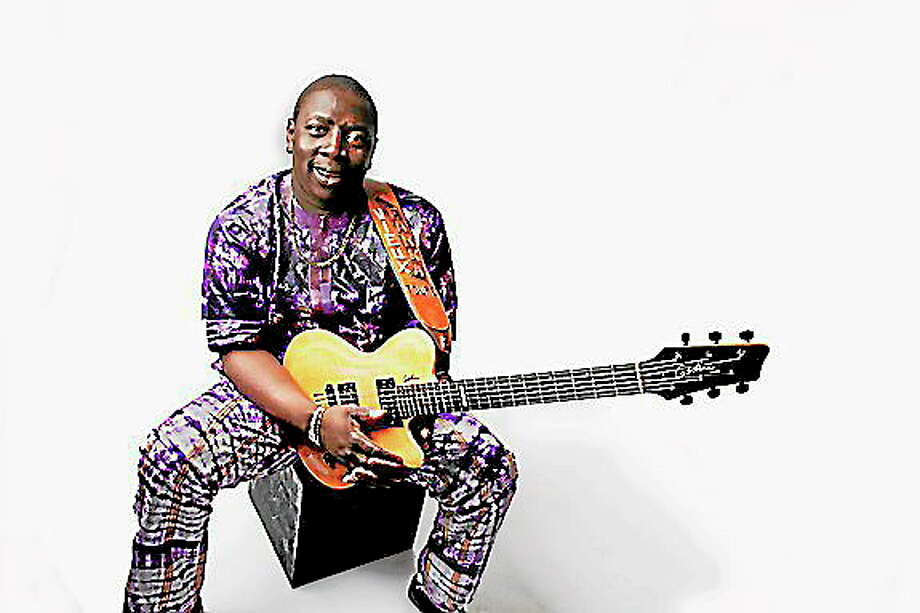 Submitted photo courtesy of the artistThe 39th annual Crowell Concert Series presented by Wesleyan University's Center for the Arts and Music Department opens with a concert by guitarist and vocalist Vieux Farka Touré on Friday. Photo: Journal Register Co.