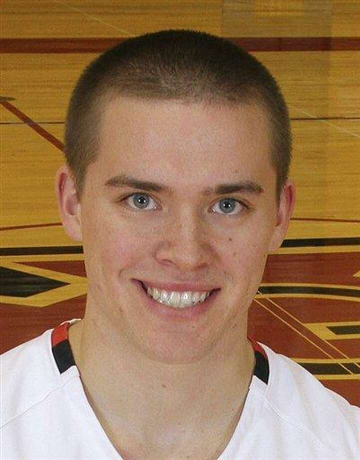 In a photo, date unknown, provided by Grinnell College Athletics, Grinnell basketball player Jack Taylor poses for a photo in Grinnell, Iowa. Taylor, a point guard, scored 138 points for Division III Grinnell against Faith Baptist Bible on Tuesday night, Nov. 20, 2012, in Grinnell, shattering the NCAA scoring record. Grinnell won 179-104. (AP Photo/Grinnell College, Cory Hall) Photo: ASSOCIATED PRESS / AP2012