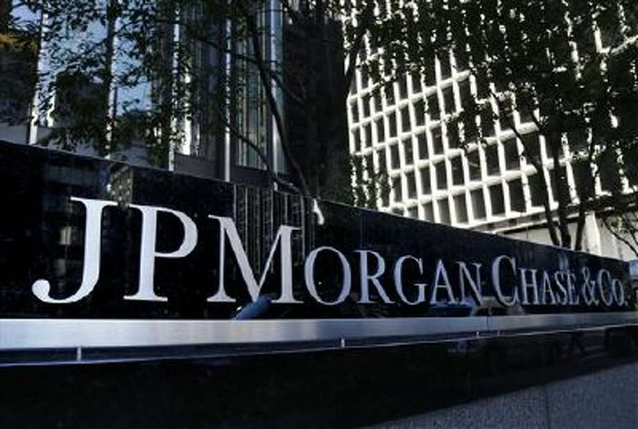 PThe JPMorgan Chase & Co. logo is displayed at their headquarters in New York, Monday, Oct. 21, 2013. Photo: AP / AP