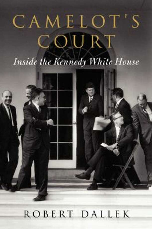 "The cover jacket of ""Camelot's Court: Inside the Kennedy White House"" is shown in this handout photo released to the media on Oct. 18, 2013. The book is written by Robert Dallek."