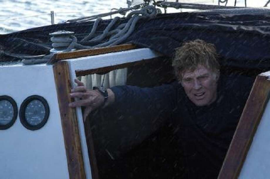 At 77, Robert Redford pulls off his role with almost astonishing physicality in ?All is Lost.