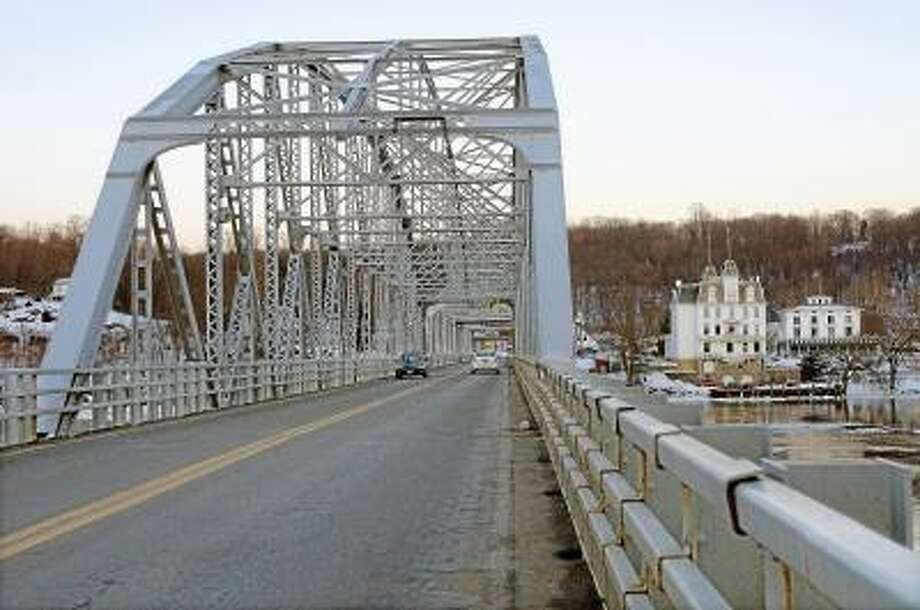 Catherine Avalone/The Middletown Press The East Haddam Swingbridge will celebrate it's 100th anniversary June 2013. Plans for portions of the original 1913 celebration which included an automobile parade, featured a band concert, and a 17-gun salute will be featured in the June festivities.