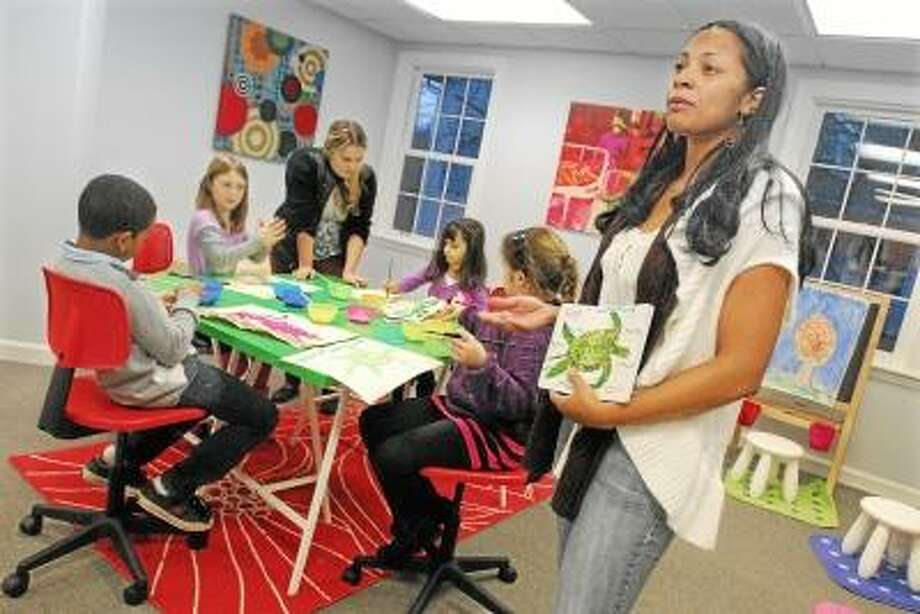 Tami Mendez, the Creative Arts Director at Kids Artspace Inc. at 955 South Main Street in Middletown developed the after-school program to stimulate the creativity and imagination of a elementary and middle school aged children. The program operates five days a week offering classes in basic drawing, cartooning, animation, photography and creative writing. Catherine Avalone/The Middletown Press