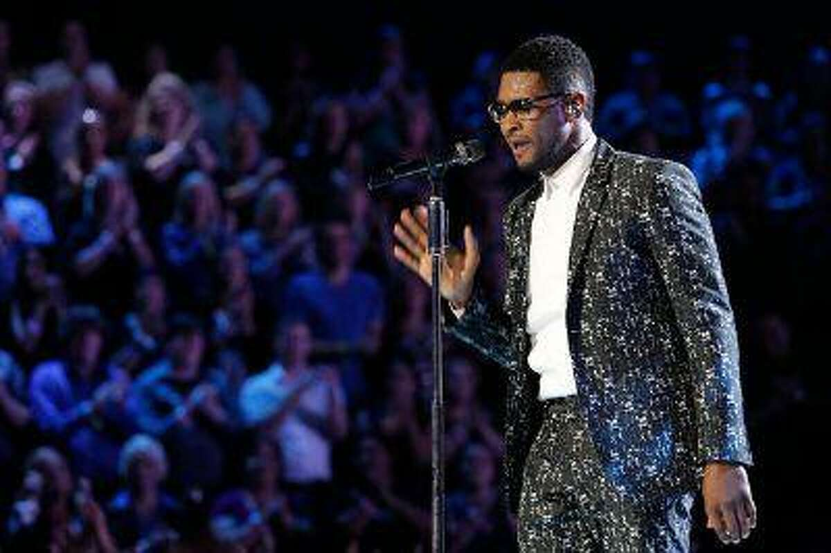 Usher during 'The Voice' on Monday, June 10, 2013. (Trae Patton/NBC)