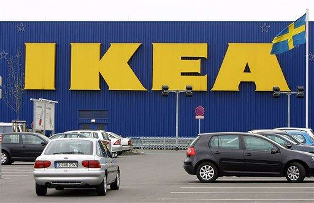 An IKEA furniture store in Duisburg, western Germany, in April 2006. Ikea expressed regret Friday that it benefited from the use of forced prison labor by some of its suppliers in communist East Germany more than two decades ago. Associated Press