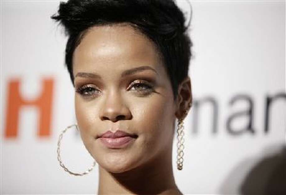In this Feb. 7, 2009 file photo, Rihanna arrives at the Clive Davis pre-Grammy party in Beverly Hills, Calif. Photo: AP / AP