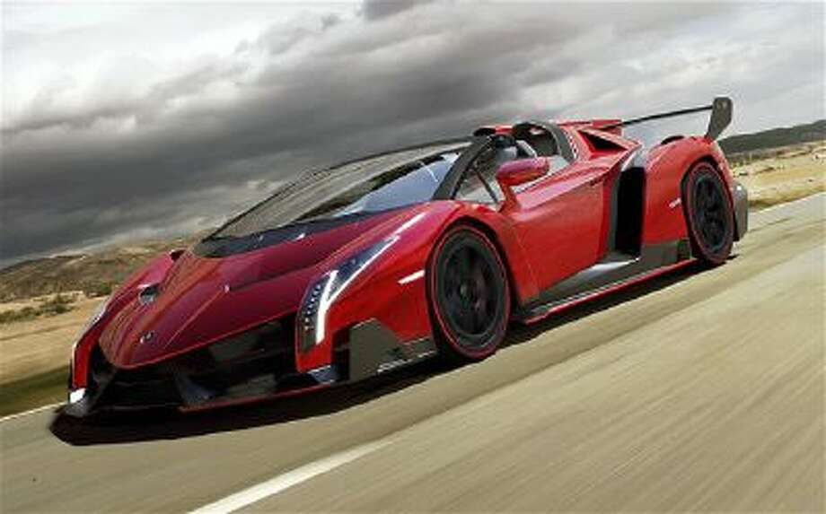 Lamborghini Veneno Roadster. The Veneno is priced at $4.5 million.