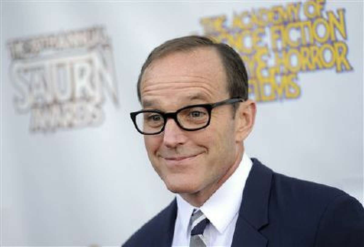 Actor Clark Gregg poses at the 39th Saturn Awards at The Castaway, in Burbank, Calif.