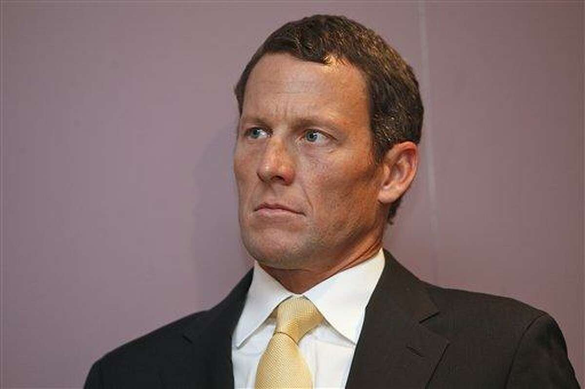 Lance Armstrong. Associated Press file photo