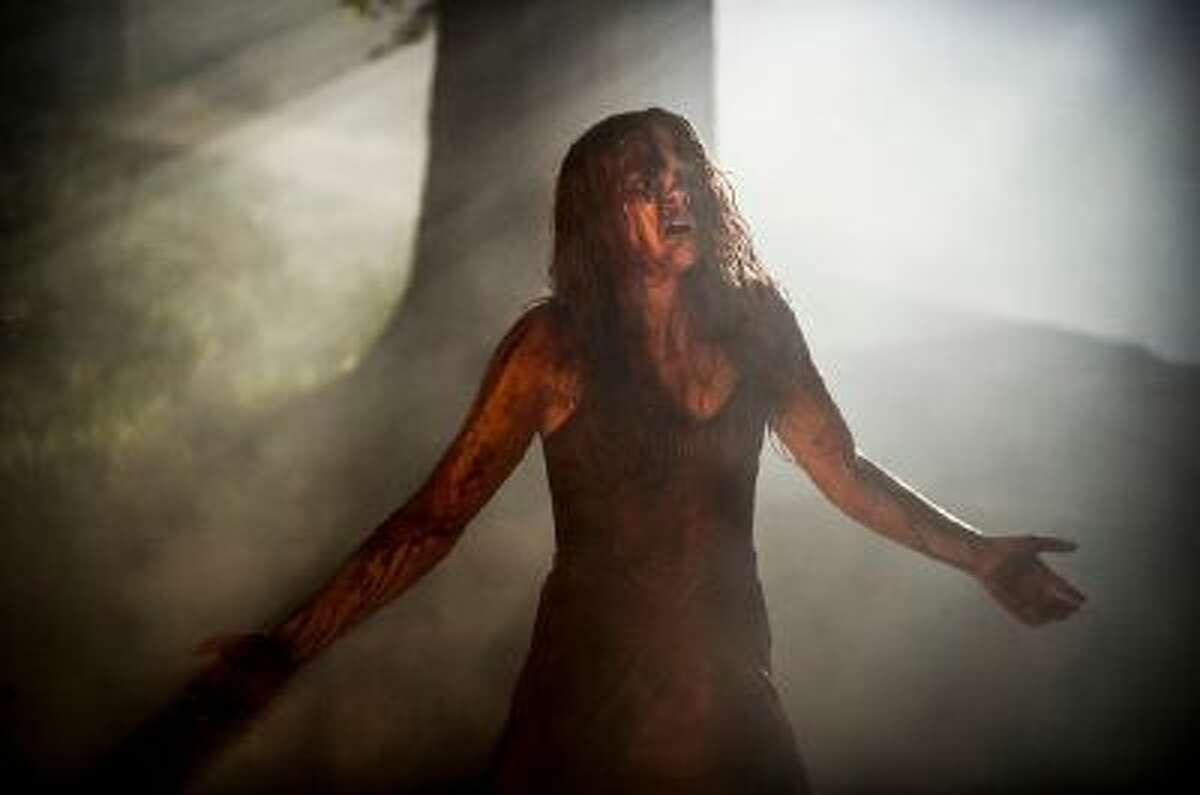 Chloe Moretz as Carrie White in 'Carrie'