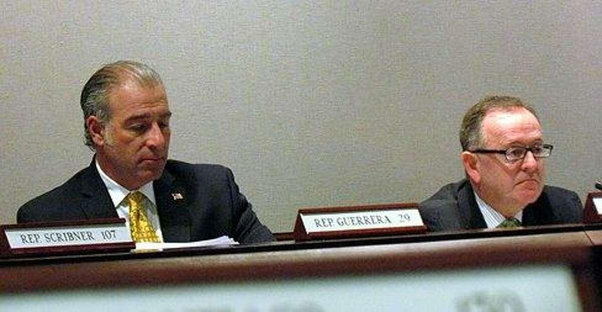 Rep. Antonio Guerrera and Sen. Andrew Maynard. Hugh McQuaid/CTNewsJunkie file photo