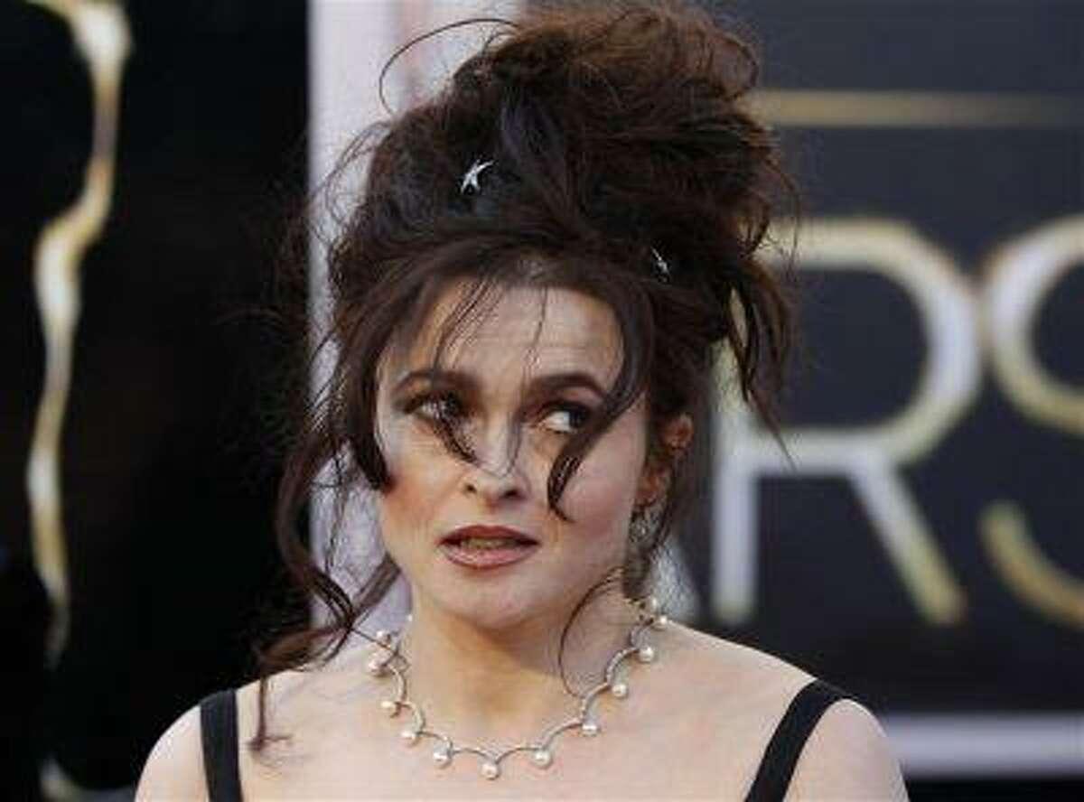 Actress Helena Bonham Carter arrives at the 85th Academy Awards in Hollywood, California February 24, 2013.