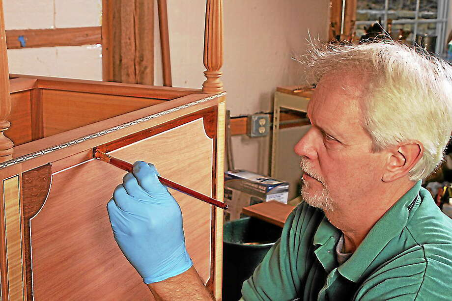 "Peter Gedrys will speak on the topic ""Furniture Finishes, Past and Present"" on Tuesday, Oct. 22 at 7 p.m. at the General Joseph Mansfield House, 151 Main St., Middletown. Photo: Submitted Photo"