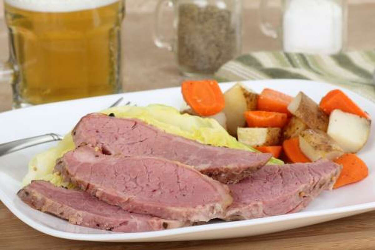 Slices of Corned Beef